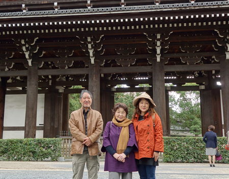 二階堂隆 二階堂美子 京都旅行 1.JPG