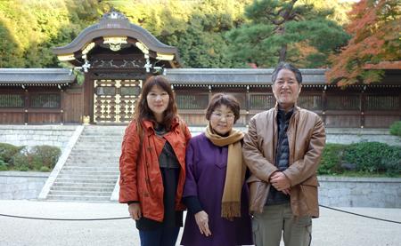 二階堂隆 二階堂美子 京都旅行
