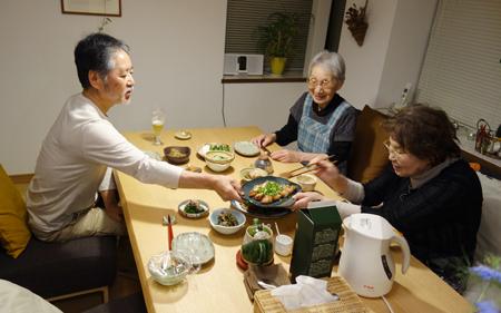 ハハーズの夕食.JPG