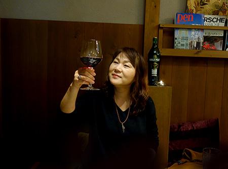 誕生日の美子.JPG