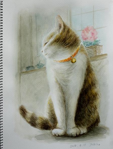 二階堂美子 水彩画