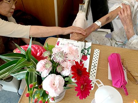 入院中の友子見舞い照子.jpg