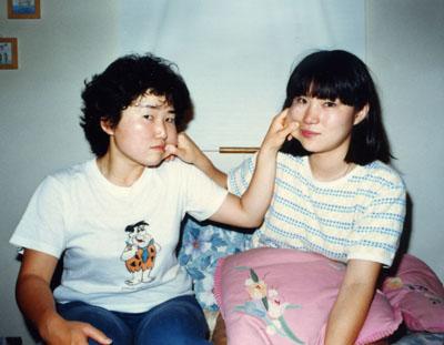 二階堂美子のカシオ時代の写真