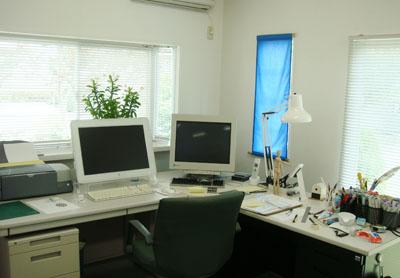 エルグデザイン代表:二階堂隆のワークスペース.JPG