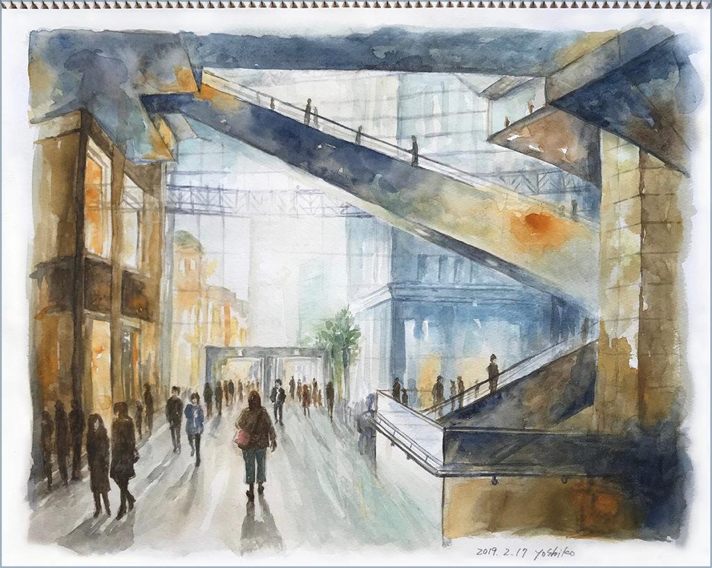 エルグデザイン  二階堂美子の水彩画